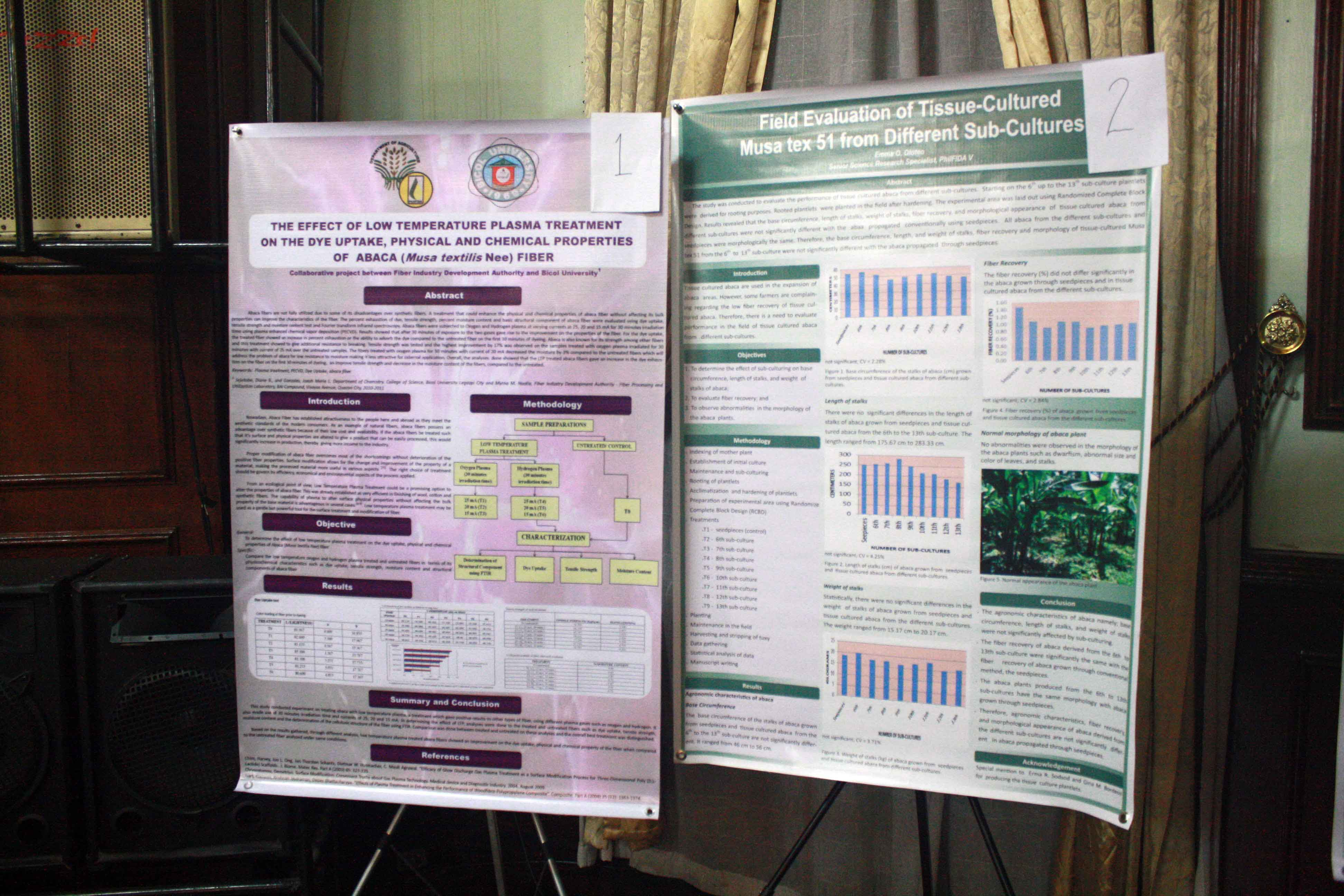 Results of the 2015 philfida in house research review